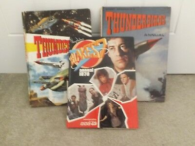 Collectors Vintage Annuals - Thunderbirds and Blakes 7