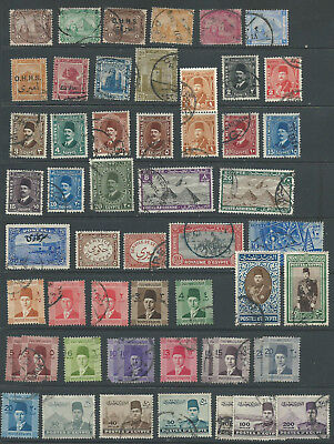 Egypt 1888-1953 from an old collection good used.