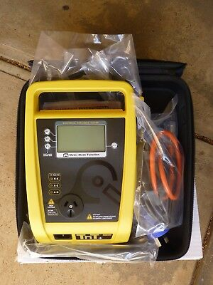 Wavecom TnT+ Portable Appliance Tester with NATA calibration report.