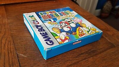 Super Mario Bros. Deluxe (Nintendo Game Boy Color, 1999) - Box Only