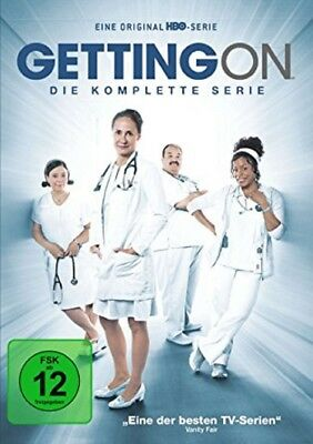 Getting On - Die komplette Serie Staffel 1-3 (1+2+3) NEU OVP 3 DVDs