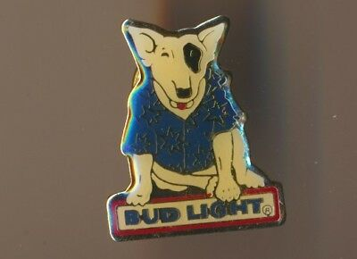 Vintage Spuds Mackenzie Bud Light Beer Pin  Official Product Logo