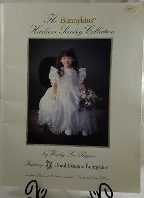 Bunnykins Heirloom Sewing Collection by Wendy Lee Ragan Royal Doulton VTG 1990
