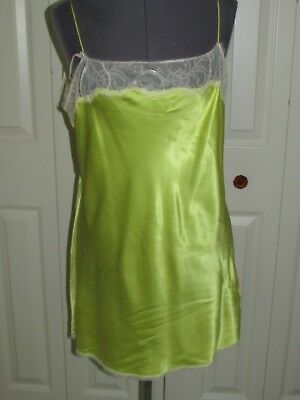 Victoria's Secret sunny yellow slip with lace trim - XL