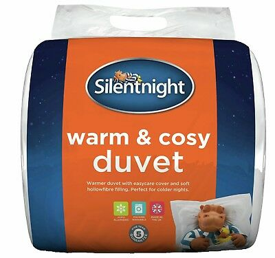 Silentnight Warm and Cosy 13.5 Tog Duvet - Single