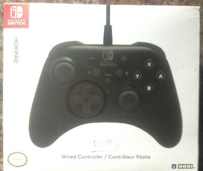 Genuine Nintendo Switch Horipad Wired Controller Brand New Sealed Official