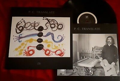 P.c. Translate - Iv - Lp Vinile 33 Giri Limited Edit 500 Copie Numerate Numbered