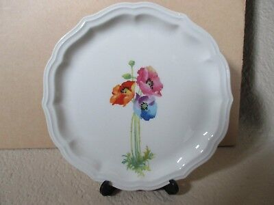 Pair of Vintage W S George Bread and Butter Plates Rainbow  1 4 + A