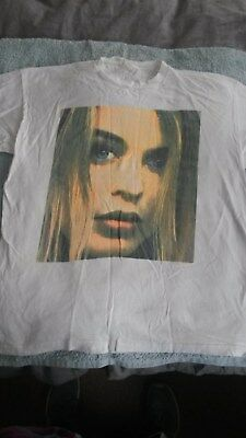 RARE Kylie Minogue Lets Get To It 1991 Tour T-shirt Extra Large