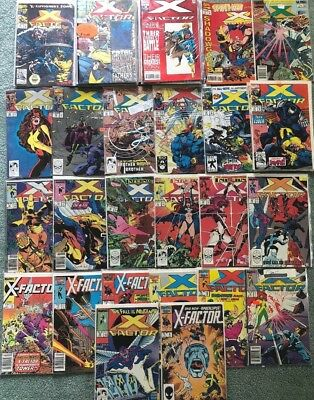 Marvel's X-Factor Comic Lot of over 50 Issues!Included X-Factor #6!