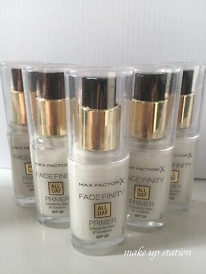 MAX FACTOR FACEFINITI ALL DAY- PRIMER per fondotinta 30ml. SPF 20