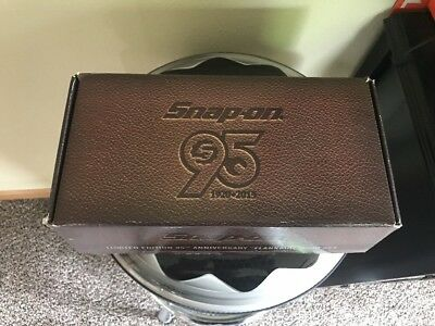 "Snap On 95th Anniversary ""Flankard"" Tankard Die Cast Mug Set NIB Limited Edition"