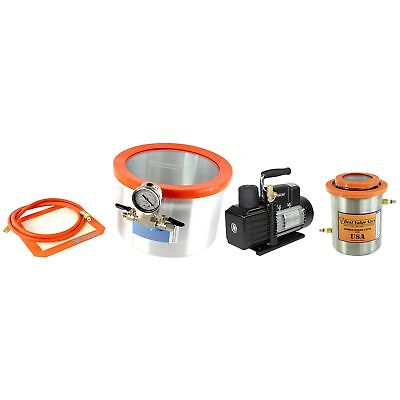 Best Value Vacs BVV Recommended Wood Stabilizing Chamber Kit- 2 Gallon Glass ...