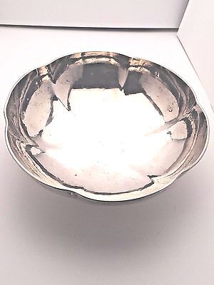 Tiffany & Co Sterling Silver beautiful Hand Wrought Bowl 7.5""
