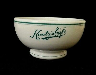 Vintage Kuntz's Cafe Dayton Ohio Chili Bowl Shenango Restaurant China Very Nice
