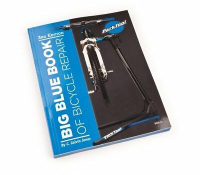 Park Tool BBB-3 Big Blue Book of Bicycle Repair 3rd Edition BBB3