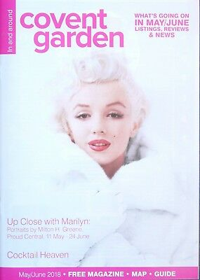 Marilyn Monroe Cover Milton H. Green - In And Around Covent Garden May June 2018