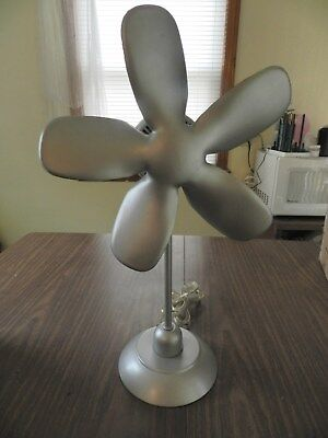 RARE Vintage Tensor Fan S B1  21 inches tall Excellent! MUST SEE! FOAM BLADES!