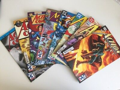 Action Comics #1000 Variants Set 1930 1940 1950 1960 1970 1980 1990 2000 Dc