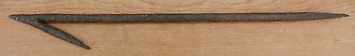 Antique Primitive Hand Forged Wrought Iron Hay Thief Checks Hay Stack  REDUCED!!