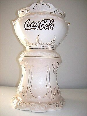 Coca Cola Victorian Syrup Dispenser Cookie Jar