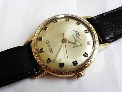 Vintage Laureat 17 Jewels Swiss Made Hand winding Gent Dress watch, Working