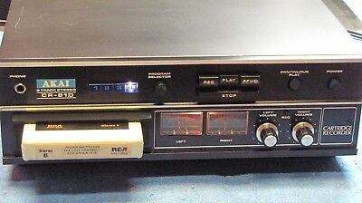 Akai 8-Track Stereo Cr-81D Player/recorder