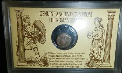 Vintage - Genuine Ancient Coin From The Roman Empire