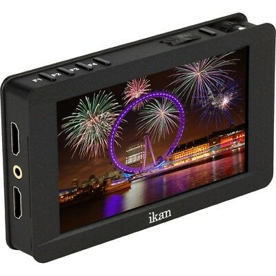 "Ikan 5"" 4K Support FHD LED HDMI On-Camera Field Monitor w/Touch DH5e 1920x1080p"