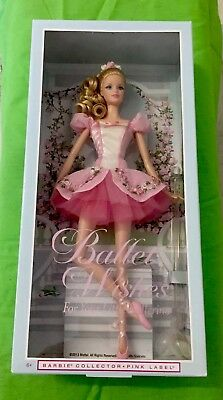 Barbie Pink Label Collector 2013 Ballet Wishes Doll Post P/U Gold Coast