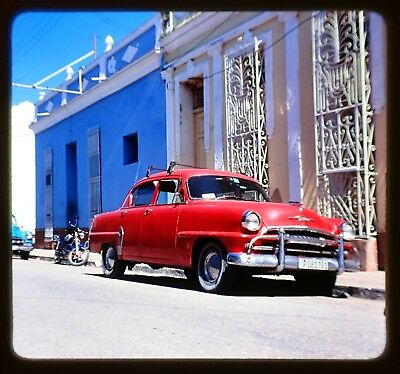 Lot of 15 Stereo Realist Cuba Old Cars Che Memorial Photo 3D Stereo Slides