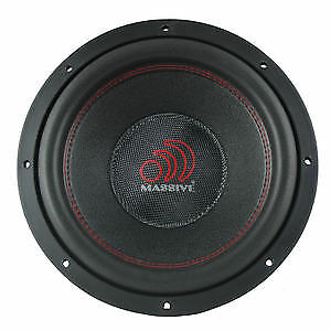 "Massive Audio TOROX124 12"" 2000 Watt Car Audio Subwoofer Open Box (Complete)"