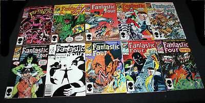 JERRY WEIST ESTATE: FANTASTIC FOUR #270-279 (Marvel 1984-85) all VF to NM!