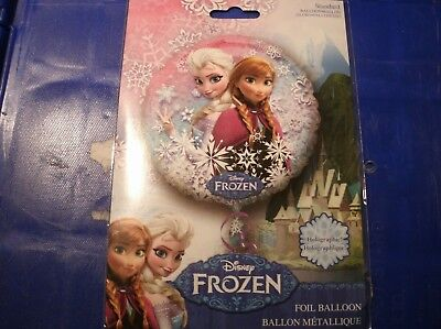 """Anagram International Frozen Holographic Packaged Party Balloons, 18"""" Multicolor"""