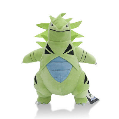 Pokemon Center Tyranitar Stuffed Doll Figure Soft Plush Toy 12 Inch Kids Gift