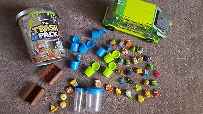 Trash Pack toys and truck