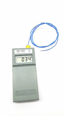 SANUP SDT - 803 portable digital temperature thermometer indicator