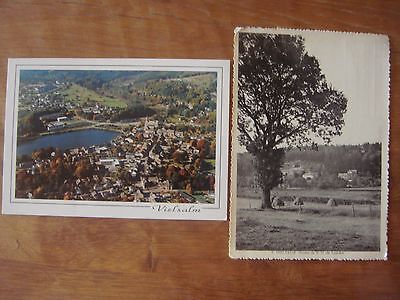 Lot de 2 cartes de VIELSALM