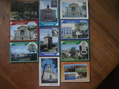 Lot de 10 cartes de NEUFCHATEAU