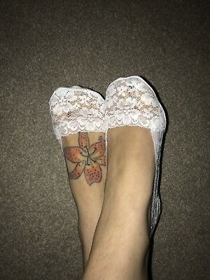 *private* Ladies Lacy Socklets/Feet Covers