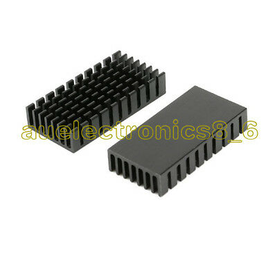 2pcs Heatsink 50x25x10mm Best Quality Heat Sink for PCB Device LM2596 2577 2587