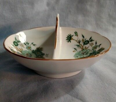 Crown Staffordshire Kowloon Pattern Double Salt Dip