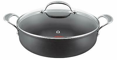 Jamie Oliver by Tefal Hard Anodised 30cm Pot Roast Pan with Glass Lid
