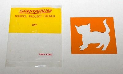 R & L Cereal Toy - Instant Artist Kit (Stencils) - Cat with Packet