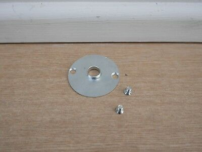 Trend 16Mm Steel Router Template Guide Bush & Screws Taken From A T4E Router