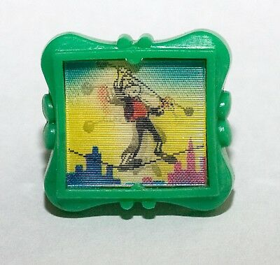 R & L Cereal Toy - Wiggle Ring - Tightrope Walker (Green)