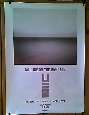 U2 No Line On The Horizon Original Promo Poster 75cm x 50cm