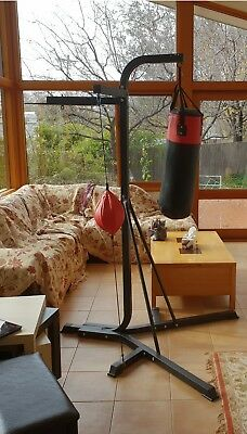 Boxing Stand Training Punch Bag/used/local pickup/Canberra/cash on delivery