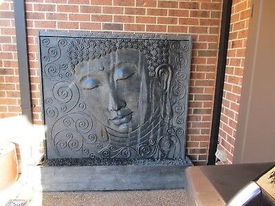 large Bali style wall water feature
