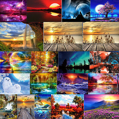 Landschaft DIY 5D Diamond Painting Diamant Stickerei Malerei Bilder Stickpackung